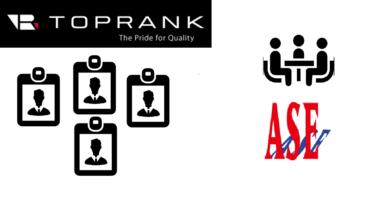 TOPRANK社とパートナー契約!